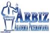 Logo Akademia Przemawiania ARBIZ - Szkolenia z wystąpień publicznych, przemawiania, prezentacji