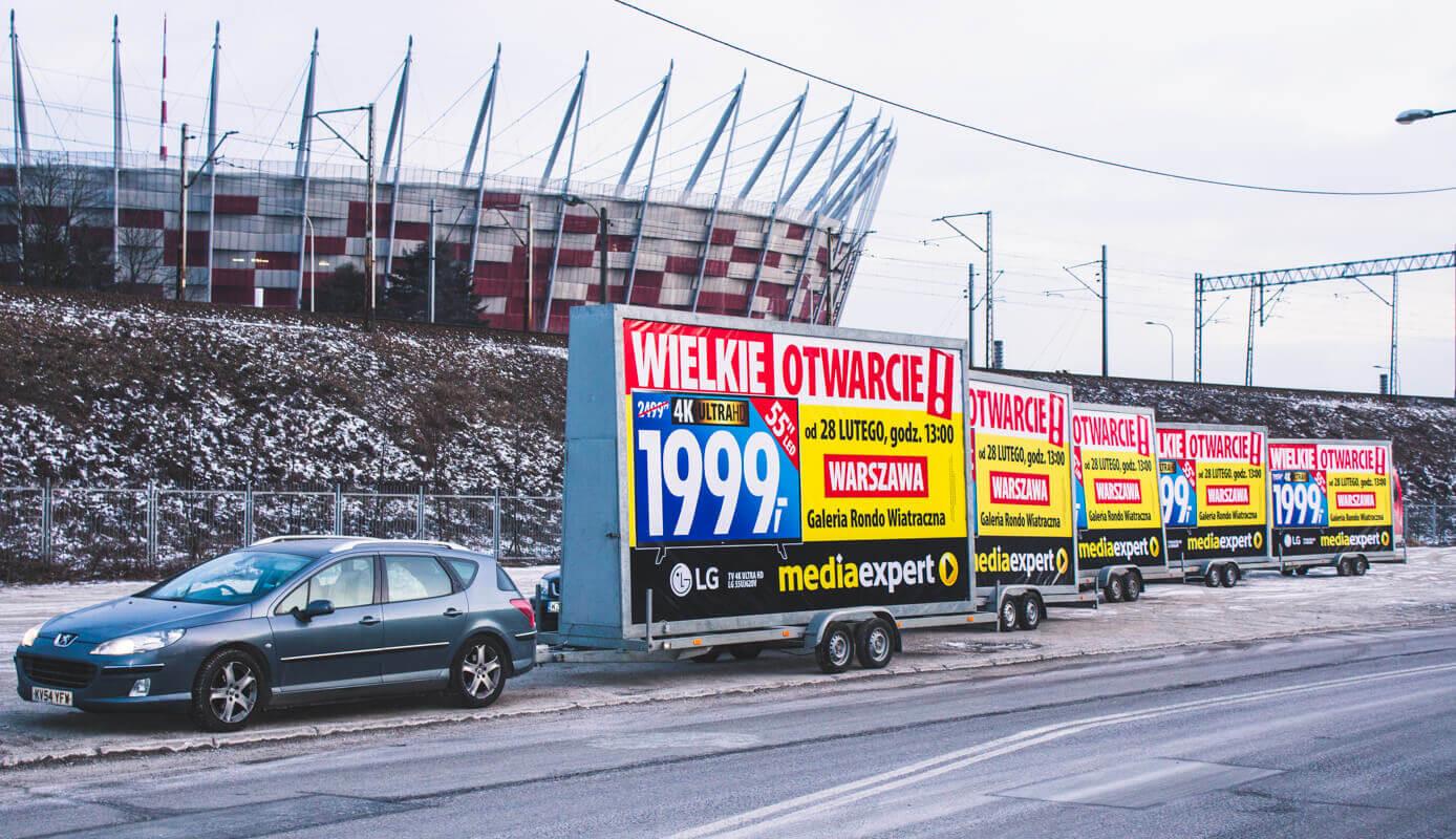 Billboardy na ulicach - czy to wciąż dobre rozwiązanie dla marketingu?